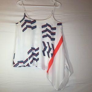 Casual sleeveless top